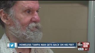 Homeless man discovers forgotten bank account