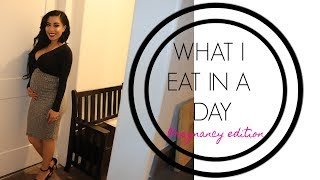VLOG: WHAT I EAT IN A DAY (PREGNANCY EDITION)