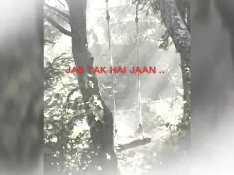 🍁 Jab Tak Hai Jaan 🍁 ( As Long As I Live )