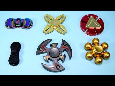 Very Interesting Fidget Spinners! Iron Man, Metal, Mortal Kombat and More!