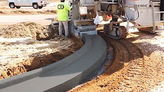 ROAD CONSTRUCTION THAT IS REALLY INSANE