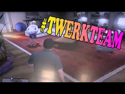 Tracey Twerking And Jimmy Masturbating (grand Theft Auto V) video