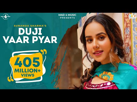 Duji Vaar Pyar | Sunanda Sharma | Sukh-E | Jaani | Arvindr K | Official Video | Mad 4 Music