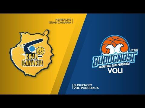 Herbalife Gran Canaria - Buducnost VOLI Podgorica Highlights   EuroLeague RS Round 12
