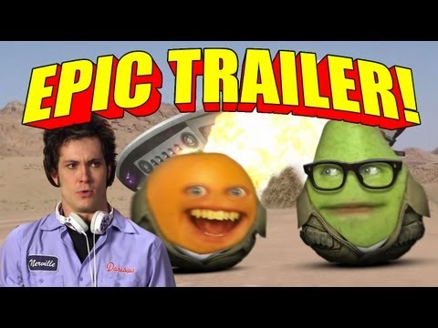 Annoying Orange - EPIC TRAILER! (Season 2 on Cartoon Network 7:30/6:30c!!!)