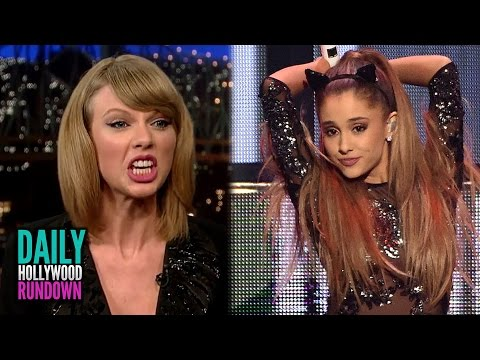 Ariana Grande Announces Mockingjay Song - Taylor Swift DISSES Harry Styles? (DHR)