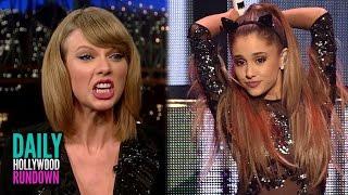 Ariana Grande Announces Mockingjay Song - Taylor Swift DISSES Harry Styles? (DHR)