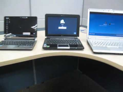Jolicloud Startup Test: Versus Acer Aspire One XP and Dell Inspiron 1420 XP