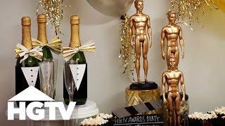 DIY Decor for Your Awards Show Party - HGTV