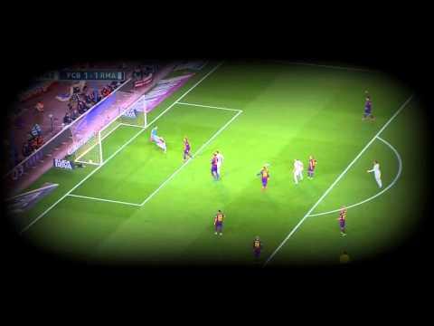 Karim Benzema vs Barcelona 22 03 2015