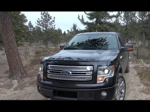 2013 Ford F-150 EcoBoost Limited Off-Road Drive and Review