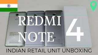 RedMi Note 4 Indian Retail Unit Unboxing & First Look | Sharmaji Technical
