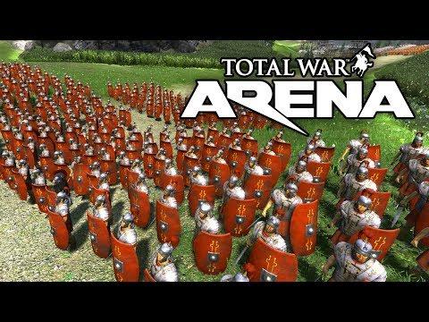 Total War ARENA 🔥 ЛЕГИОНЕРЫ РИМА В УКРЕПЛЕННЫХ ДОСПЕХАХ