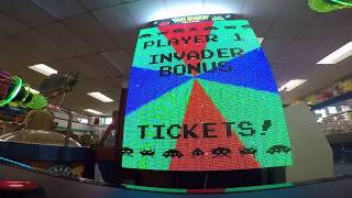 Space Invaders Frenzy Arcade Game JACKPOT WIN #18 at Salisbury Beach (From 5/29/18)