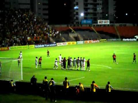 a melhor defesa do jogo sport x náutico 09/08/11