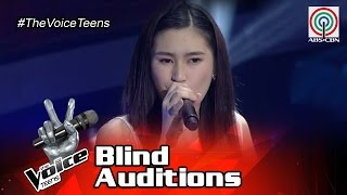 The Voice Teens Philippines Blind Auditon: Isabela Vinzon - Feeling Good