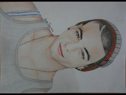 Drawing Maluma by james tovar (speed) - Dibujando Maluma