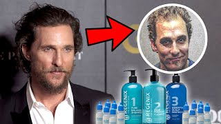 "Matthew McConaughey Dedicates His Hair Loss Reversal To THIS ""MIRACLE PRODUCT"""