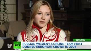 Ice Maidens: Russian curling team is ready to win