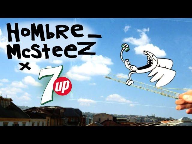 Hombre McSteez  7up Commercial