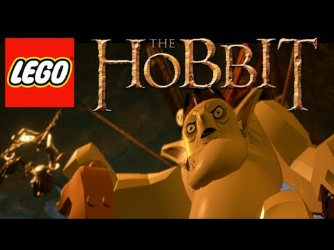 LEGO Hobbit - Gameplay Walkthrough - Misty Mountains