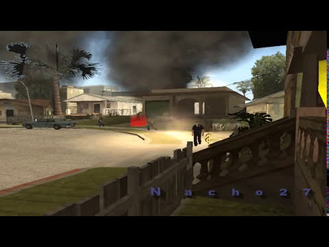 GTA San Andreas:Zombie Infection pt.1 (Loquendo)