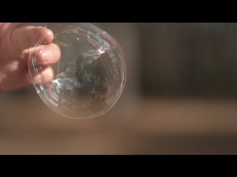 Bubble bursting at 18,000fps - The Slow Mo Guys