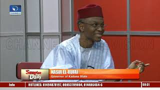 CJN's Trial: Assets Of Public Officials Should Be Published, El-Rufai Insists |Sunrise Daily|