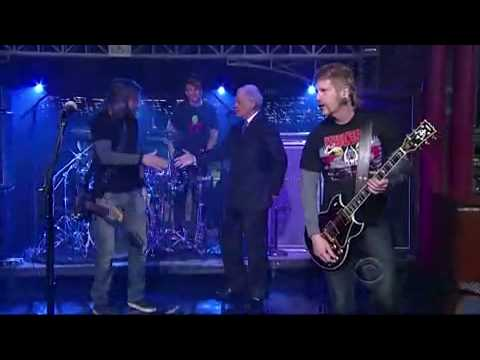 Mastodon - Oblivion (Live On Letterman 15-05-09) HD