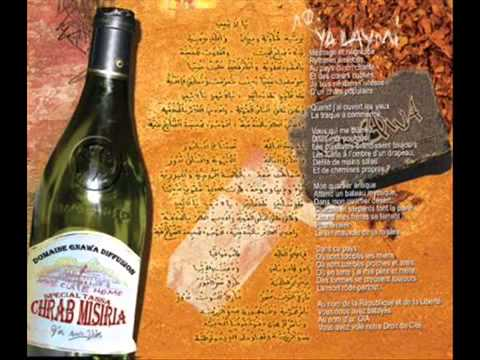 Gnawa Diffusion - Ya Laymi - Amazigh Kateb (lyrics) video