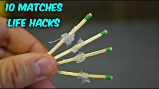 10 Match Life Hacks - Compilation