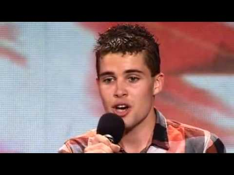 The x factor 2009 - Joseph McElderry - Auditions - Episode 1