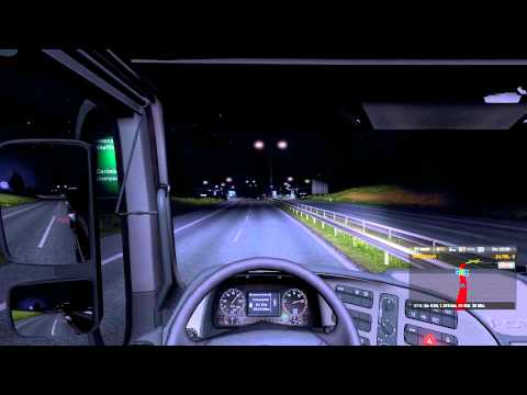 Trucksim Map 4.7 with 1.9 22 MIN Video ON THE MAP