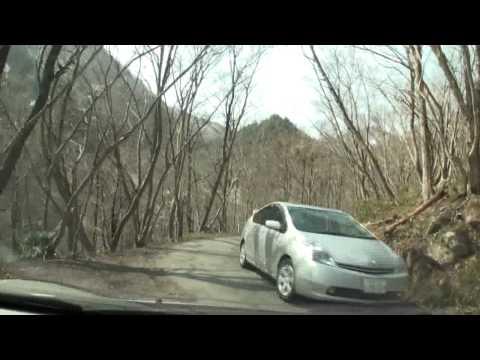 【車載動画】秘湯 姥湯温泉枡形屋さんへのアクセス