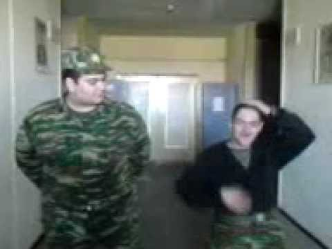 The Lion Sleeps Tonight-hippo Singing Cover On Army video