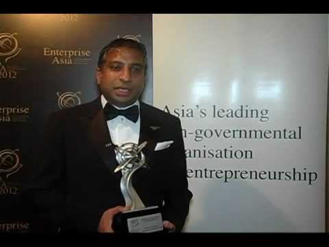Asia Pacific Entrepreneurship Awards 2012 Sri Lanka - Interview with Mr Ishara Nanayakkara