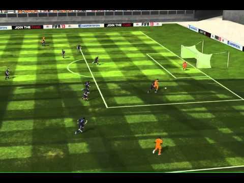 FIFA 13 iPhone/iPad - Netherlands vs. Real Madrid