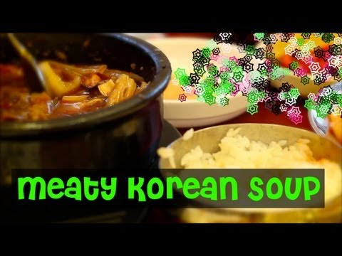 0 Food Adventure Program For Awesome People!   Delicious Korean Meat Soup