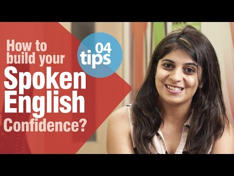 How To Build Your Spoken English Confidence? - Speak With Confidence - English Lesson video