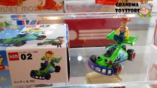 Unboxing TOYS Review/Demos - Part 1 Tomi car lots of metal cars disney starwars marvels