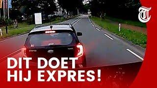 Kinderachtige Kia-rijder smeekt om ongeluk - DASHCAM #112