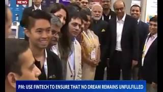Financial revolution sweeping through India: PM Modi