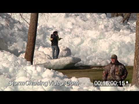 5/11/2013 Mille Lacs Lake Glacial Ice Aftermath Stock Footage Catalog