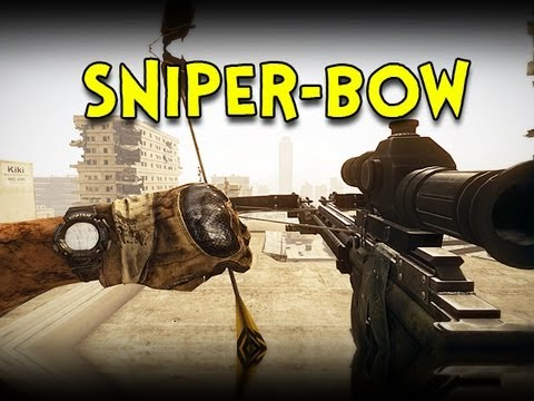 SNIPER-BOW! - Battlefield 3 Aftermath Crossbow