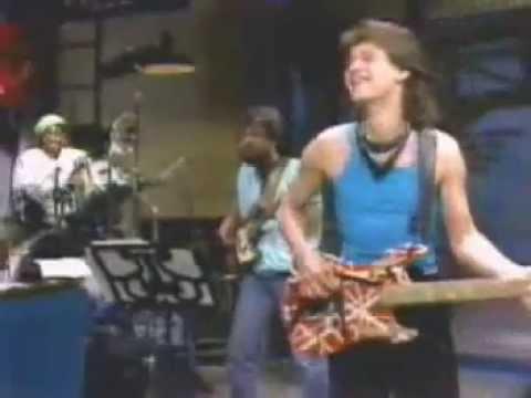 Eddie Van Halen 1984 Eddie Van Halen on Letterman