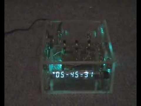 IW-18 VFD Clock Prototyp