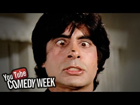 Amitabh Bachchan trying to catch fly - Namak Halal - Comedy...