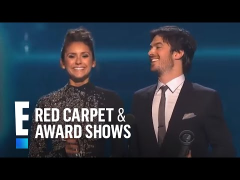 The People's Choice for Favorite On-Screen Chemistry is Nina Dobrev and Ian Somerhalder