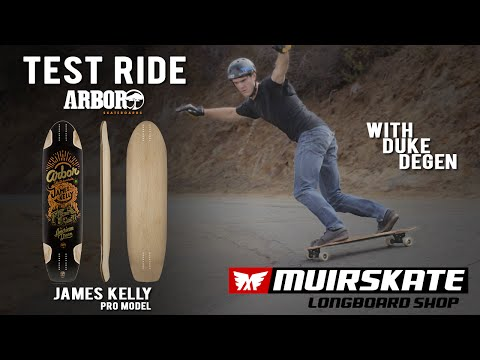 Test Ride Arbor James Kelly Pro Model with Duke Degen | MuirSkate Longboard Shop
