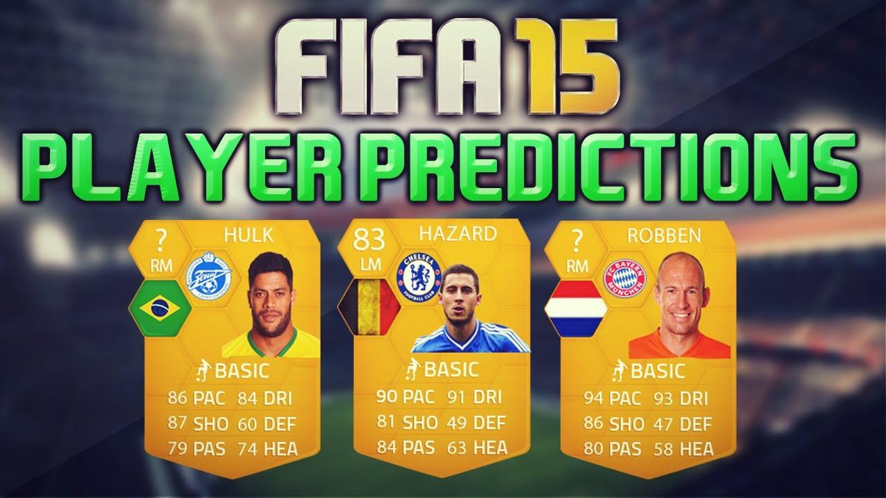 Fifa 15 player predictions robben hazard amp hulk fifa 15